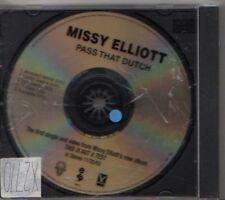 (CM182) Missy Elliott, Pass That Dutch - 2003 DJ CD