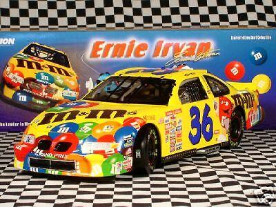 Ernie Irvan #36 M/&M 1999 Pontiac Grand Prix 1:18 MIB