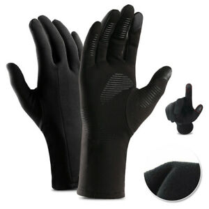 2 Pairs Mens Winter Sports Warm Gloves Windproof Thermal Touch Screen Mittens US