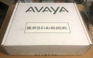 Avaya Ip Office Small Office Edition 700280209 4t 4a 8ds 3vc Intl Pcs 18 Ebay
