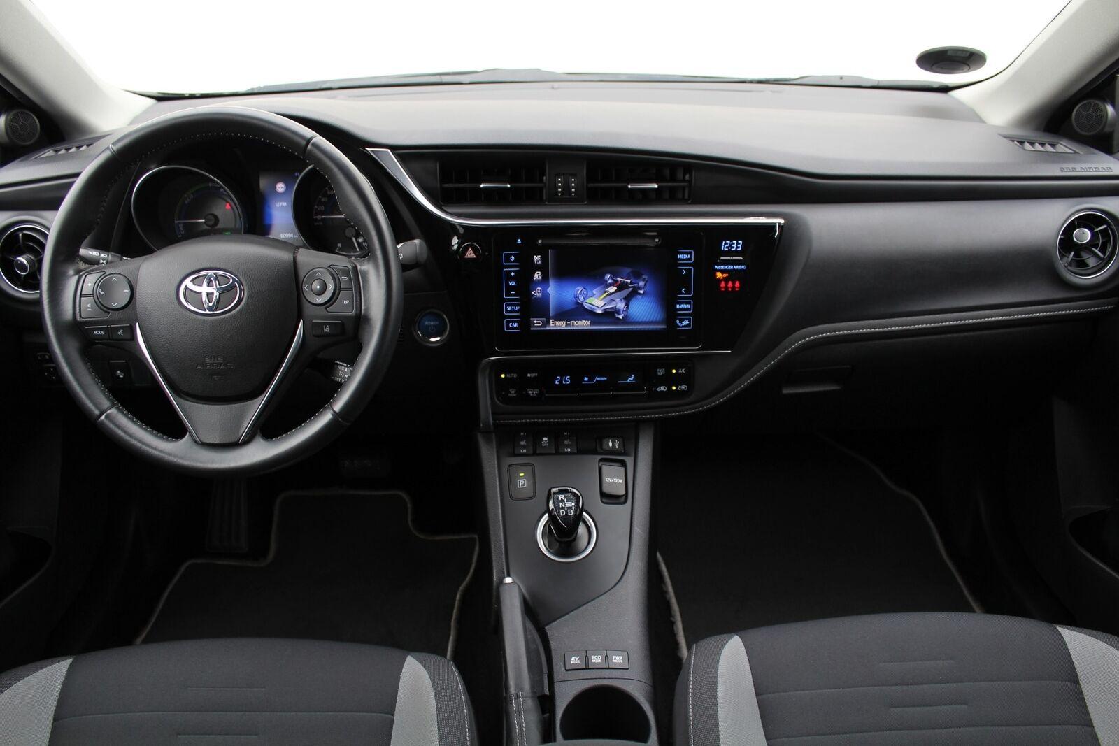 Toyota Auris 1,8 Hybrid H2 Comfort CVT - billede 6