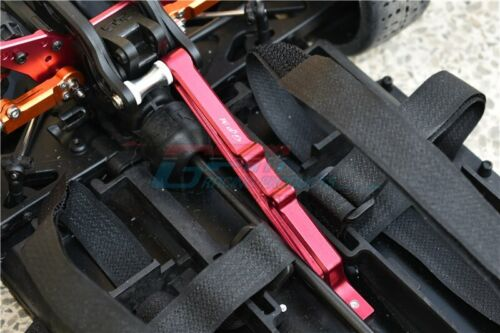 Limitless Orange Infraction GPM Aluminum Collar For Rear Chassis Brace 1Pc