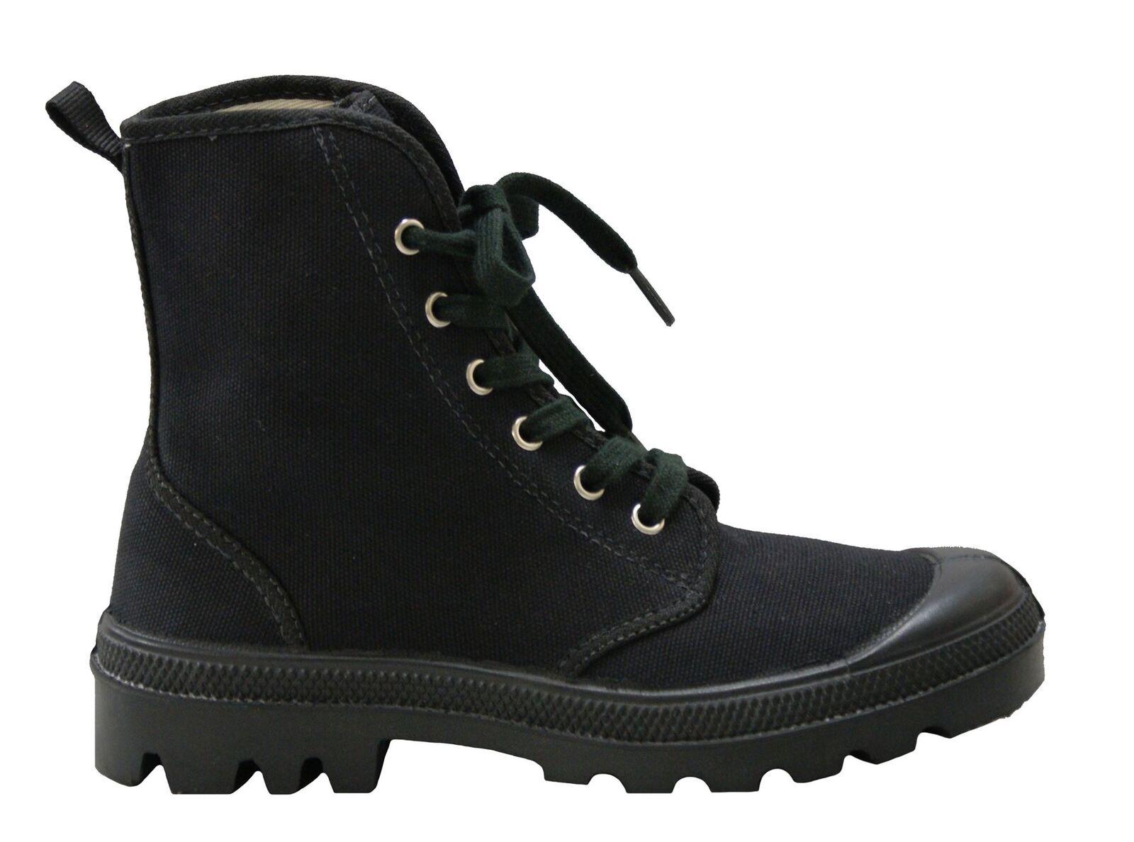 Palladium Style Unisex Footwear Fashionable Hi Top Pampa Canvas Boots