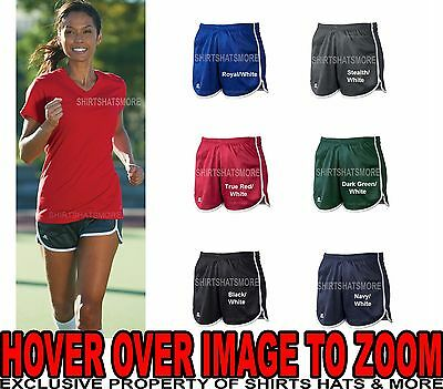 Russell Athletic Ladies Shorts Moisture Wicking Exercise Running Womens S-2XL