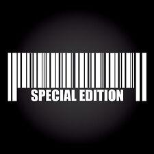 Special Edition Barcode Strichcode Auto Aufkleber Sticker DUB JDM 20,0 x 7,0 cm