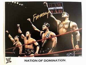 WWE-WCW-WWF-FAAROOQ-Signed-8x10-Photo-Wrestling-Autograph-DAMN-NOD