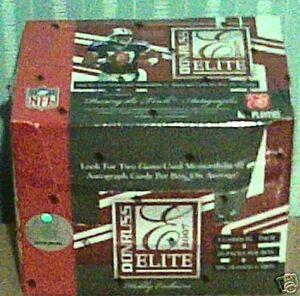 Brand-New-2007-Donruss-Elite-Football-Sealed-1-Pack-NIP