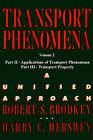 Transport Phenomena: A Unified Aprroach: v. 2 by Harry C. Hershey (Paperback, 2003)