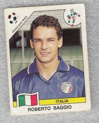 Roberto Baggio World Cup 94 USA Mint Condition Panini invest 314 Italy Juventus