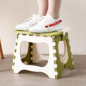 Outstanding Details About Folding Step Stool Plastic Bench For Kids Travel Outdoors Kitchen Bathroom E4A0 Customarchery Wood Chair Design Ideas Customarcherynet