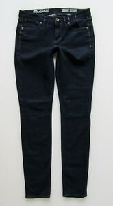 Madewell Mid Rise Skinny Jean, Dark Wash - Size 27 x 32