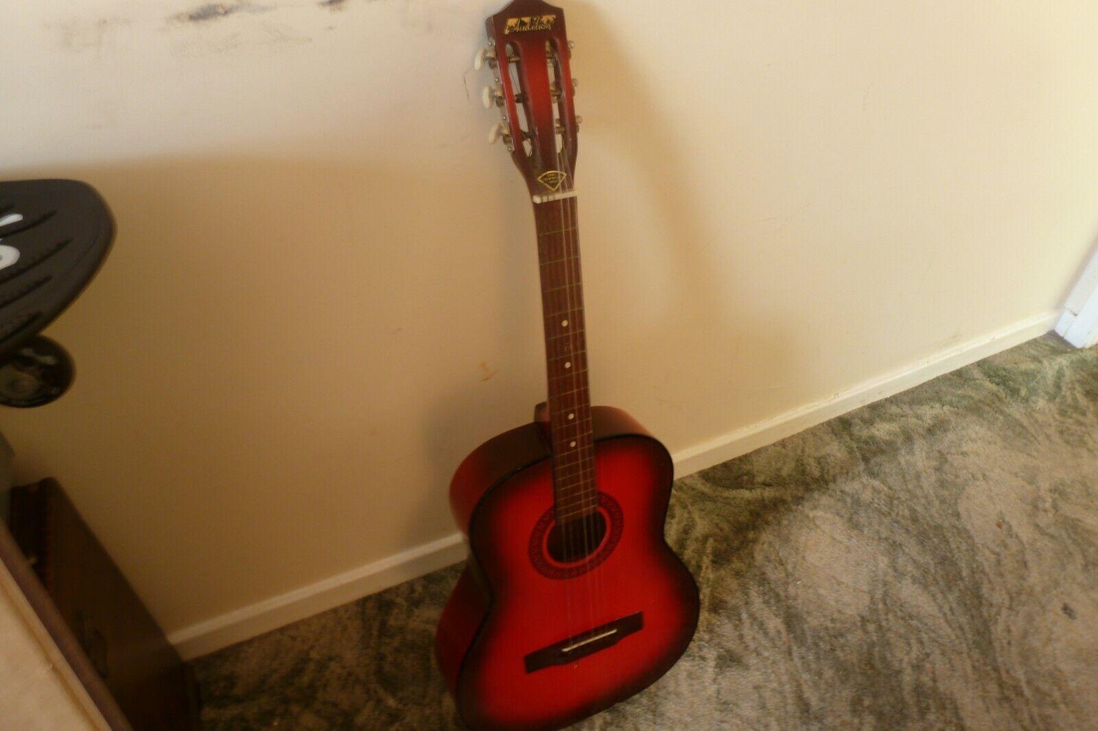 Vintage 1970s era Audition Acoustic Guitar