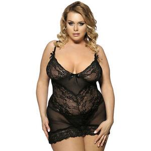 sexy Dessous für größere Damen