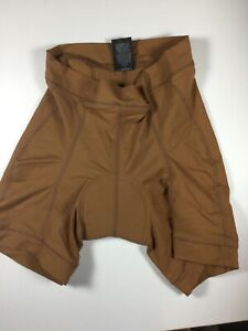 Descent-Padded-Road-Bicycling-Shorts-Brown-Womens-Medium