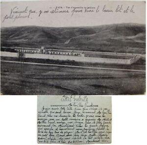 Taza-vue-d-039-ensemble-de-la-gare-1921-cpa-Maroc