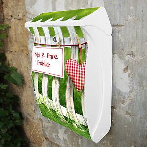 Castello di guardiano cassetta postale design motivo cassetta 27x42x13cm il testo propria nuovo - Cassetta postale design ...