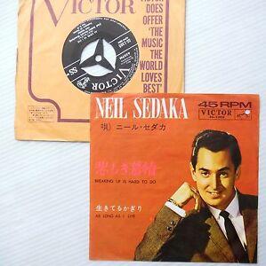 NEIL-SEDAKA-pop-JAPAN-ps-45-Breaking-up-is-to-do-b-w-As-long-as-I-Live-VG-F418