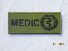MEDIC, Medical Unit ID Patch, Klettverschluß,oliv
