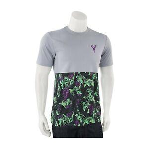 Nike-Kobe-Bryant-Loup-Gris-Vert-Vino-Homme-T-Shirt-698690-012-Tout-Neuf