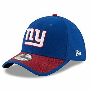 New York Giants NFL New Era Sideline 39Thirty Hat Cap Blue Adult Men's Flex S/M