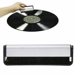 Schallplattenreinigung-Carbon-Antistatik-Vinyl-Buerste-Turntable-Reinigung-Neu-DE