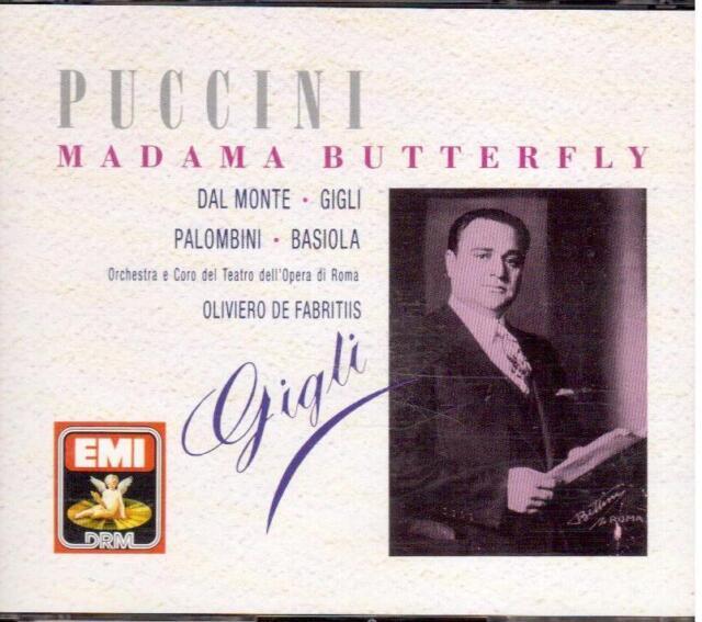 Puccini: Madama Butterfly / De Fabritiis, Vom Monte , Lilien - CD Emi