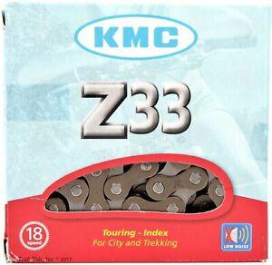 KMC-Z33-5-6-Speed-3x6-18-Speed-Bike-Chain-116L-fits-Shimano-FSA-SRAM-Campagnolo