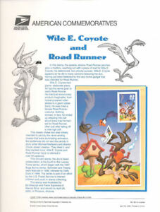 601-33c-Wile-E-Coyote-Road-Runner-3391a-USPS-Commemorative-Stamp-Panel