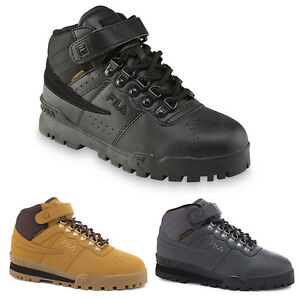 NEW Mens Fila F-13 Mid High Top Weather Tech Sneaker Boots Shoes  ace18821b4d