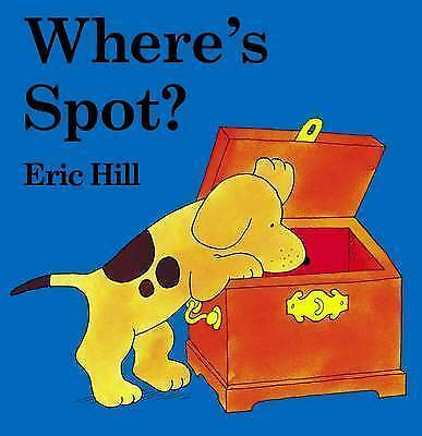 (Good)-Where's Spot? (Lift-the-flap Book) (Board book)-Eric Hill-0723249679