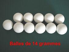 11 balles de baby foot en liege 14g - Qualité Bonzini