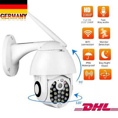1080P Outdoor IP NETZWERK CAMERA Dome AUßEN ÜBERWACHUNGSKAMERA CCTV FUNK WLAN