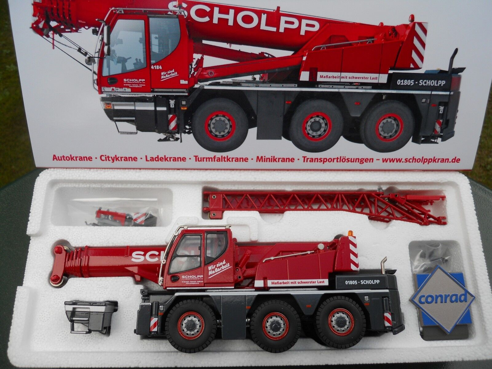 CONRAD 2109/10 LIEBHERR LTC 1045 -3.1   SCHOLPP    HORS COMMERCE MINT IN BOX