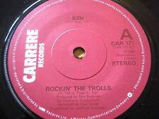 "BZN - ROCKIN' THE TROLLS  7"" VINYL"