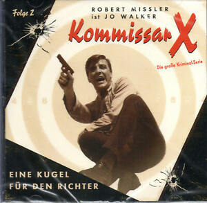 Kommissar-X-Eine-Kugel-fuer-den-Richter-Audio-CD-Hoerspiel-NEU-OVP