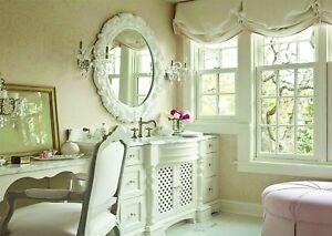 Pittura Pareti Shabby Chic : Pittura f opaca bianco shabby chic stile effetto gesso per pareti