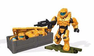 Figure #2 HALO MK VI SPARTAN Armor Customizer Mega Bloks Mega Construx DXR56