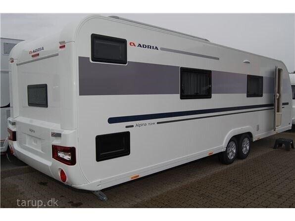 Adria Alpina 753 HK, 2019, kg egenvægt 2000