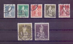 Berlin-1949-UPU-Stephan-MiNr-35-41-rund-gestempelt-Michel-320-00-566