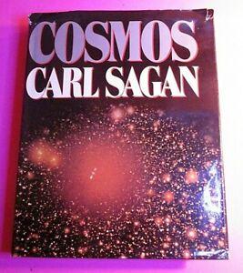 Cosmos-by-Carl-Sagan-TRUE-Stated-First-Edition-HC-w-DJ-Rare