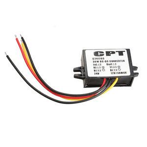 Dv 24v to 12v 3a 36w voltage converter power adapter for Lampen 0 36w 6v