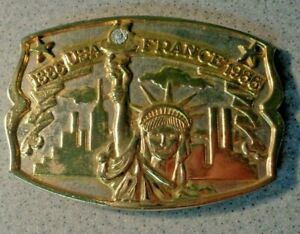 Vintage Liberty Belt Buckle
