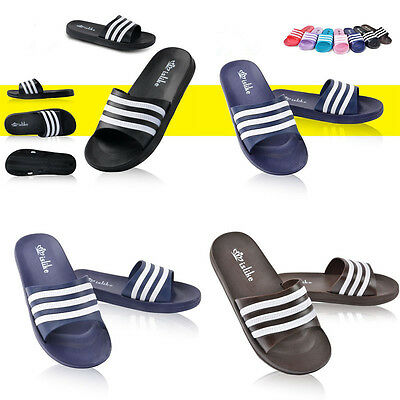 Summer Men Sports Gym Beach Slippers Flip Flops Sandals Home Shoes US Size 7-12