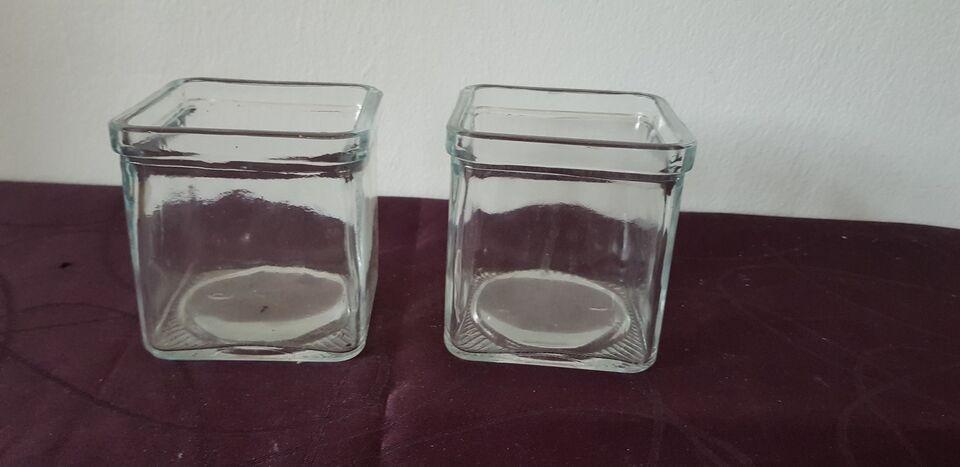 Glas, Vase, Hyacint vase