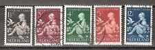 NVPH Netherlands Nederland 313 314 315 316 317 used 1938 kinderzegels Pays Bas