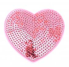 Strass Herz 10 Ziersteine zum aufnähen Regenbogen Aufnäher