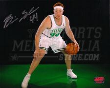 Brian Scalabrine Boston Celtics Signed Autographed Portrait Green Floor 8x10
