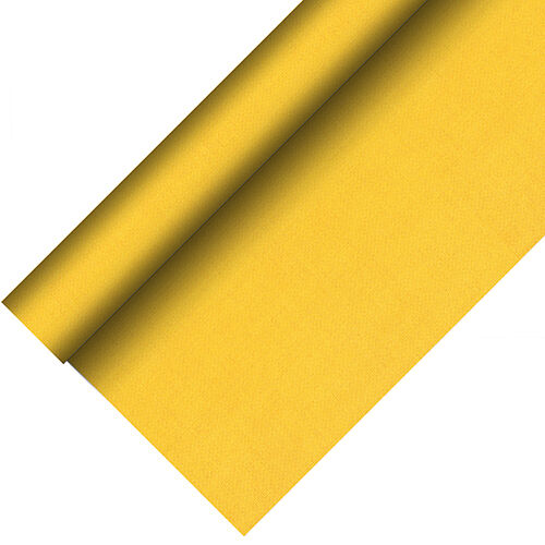 2 Tovaglia in tessuto simile PV-tissue Royal Collection Plus 20m x 1,18m GIALLO ruolo
