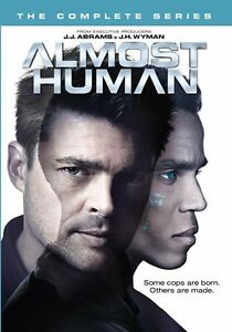 ALMOST-HUMAN-THE-COMPLETE-SERIES-DVD-UK-Compatible-New-amp-sealed
