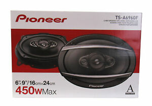 Pioneer-TSA6960-450W-Max-90W-RMS-A-Series-6-x-9-034-4-Way-Coaxial-Speakers-Pair